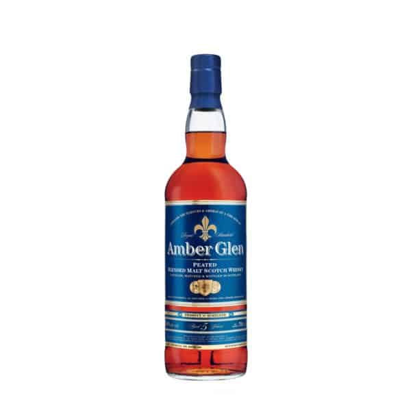 Amber Glen Peated Blended Malt Aged 5 Years